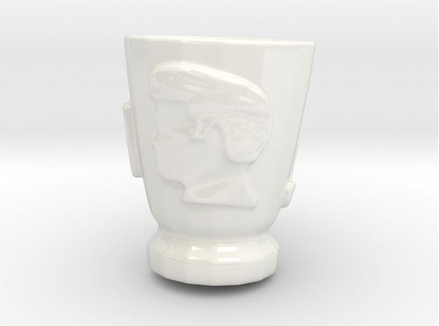Elvis Hairstyle Tea Cup by ARZNAK