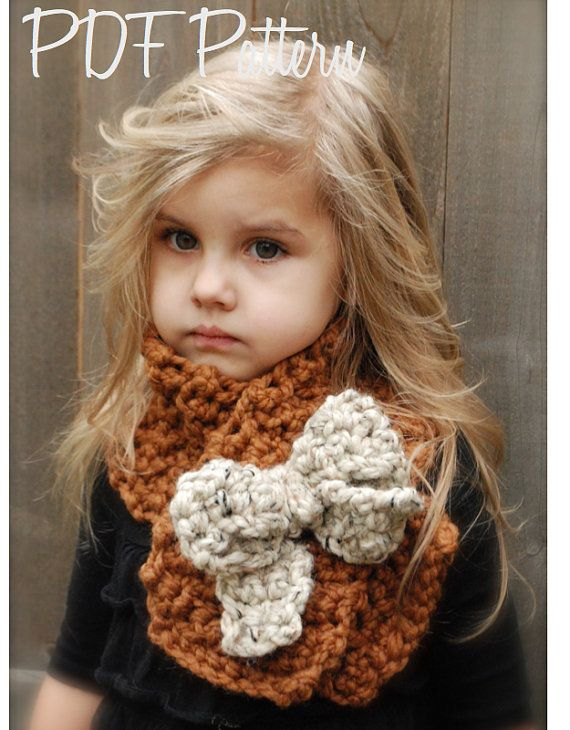 Crochet PATTERN-The Tyeleigh Scarf (Adult,Child, Toddler sizes) on Etsy, $5.50