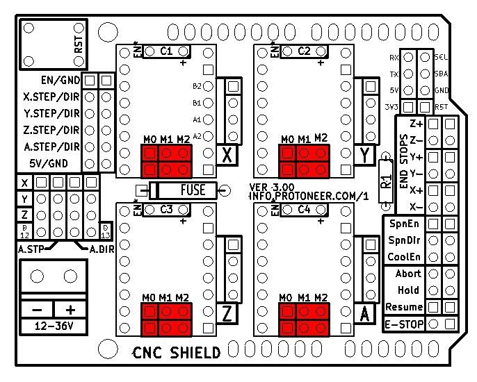 Arduino CNC Shield V3.XX – Assembly Guide | Protoneer.co.nz