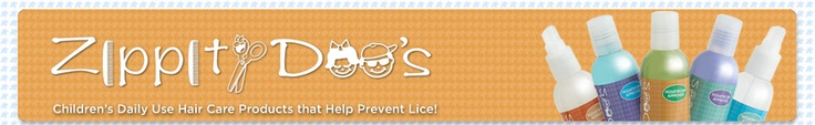 Zippity Doos another natural lice preventing product line