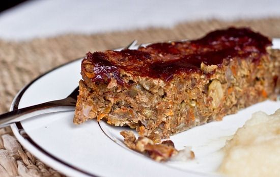 Ultimate Vegan Lentil Walnut Loaf- Family loved it!  healthy and delicious!