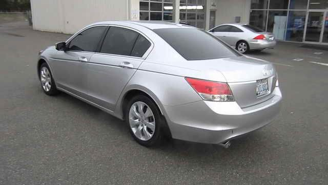 2009 Honda Accord Silver