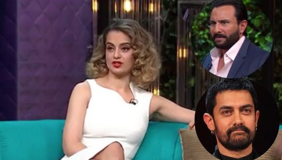 Kangana The Queen Of Bollywood Admits She's Jealous OF Aamir