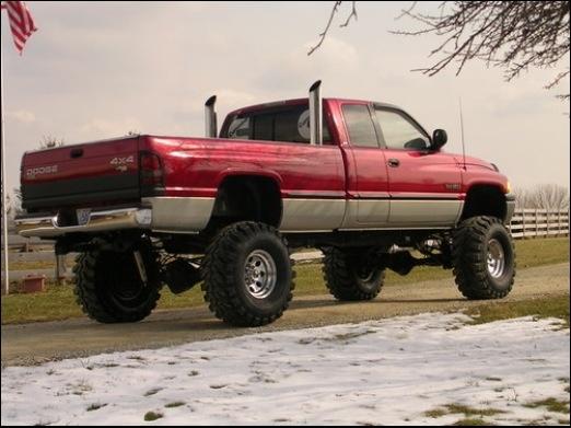 My favorite red cummins truck | love me some trucks!<3 | Pinterest