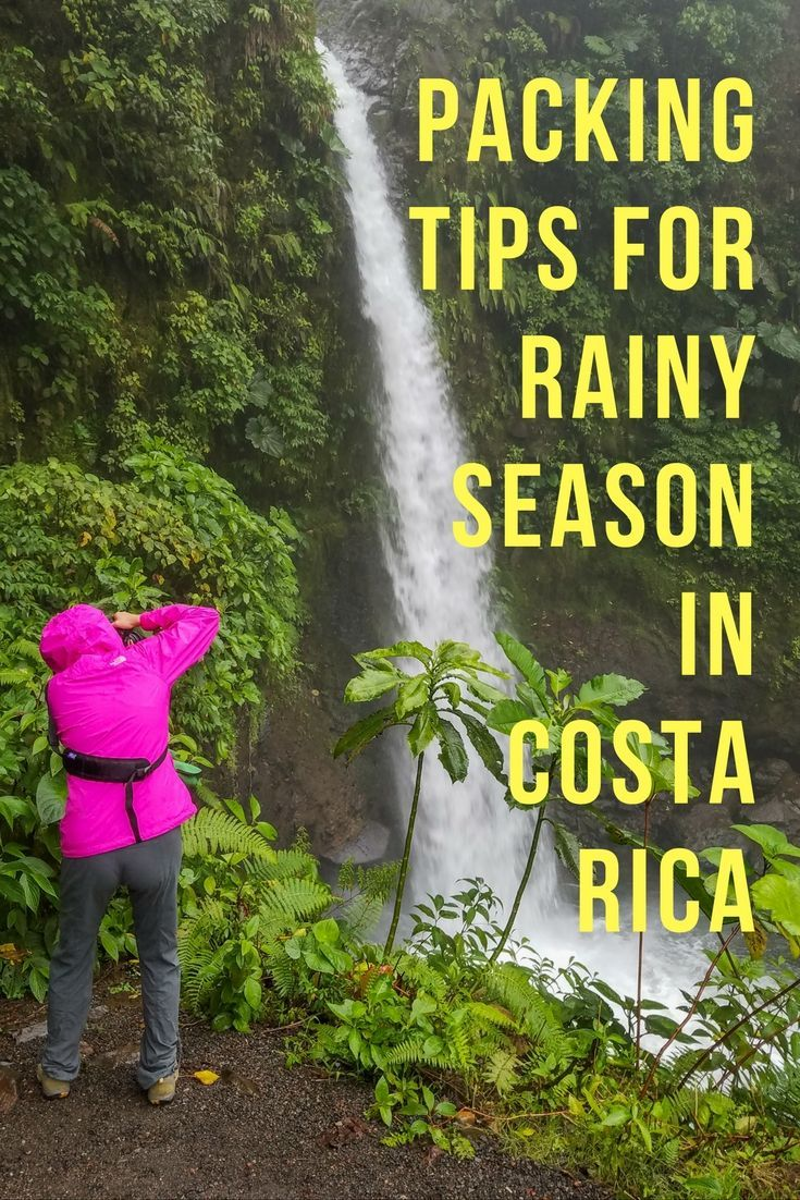 Tips for Packing for Rainy Season in Costa Rica