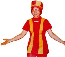 Burger King uniform from the 1970's - yes... I did wear one of these! Brings back lots of memories.