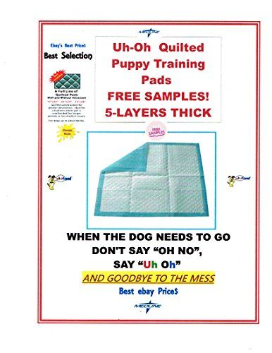 Quilted 17x24 300ct Highly Absorbent Puppy Training Pads For Dogs up to 30lbs *** You can find out more details at the link of the image.