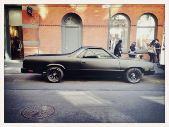 Does It Come In Black? Vol.3 - 60 Photos | Shock Mansion: Muscle Cars, El Caminos, El Camino S, Dream Cars, Auto, The Way, Chevy The, Black, Cars Trucks