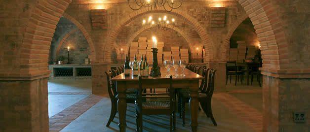 Wine cellar Bouchard Finlayson #wine #SouthAfrica
