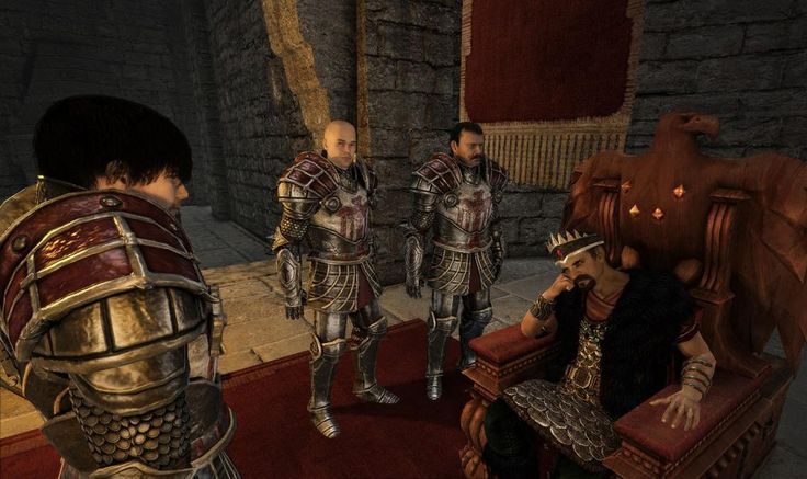 Paladin Armor (Nameless Hero speaking with King Rhobar III)