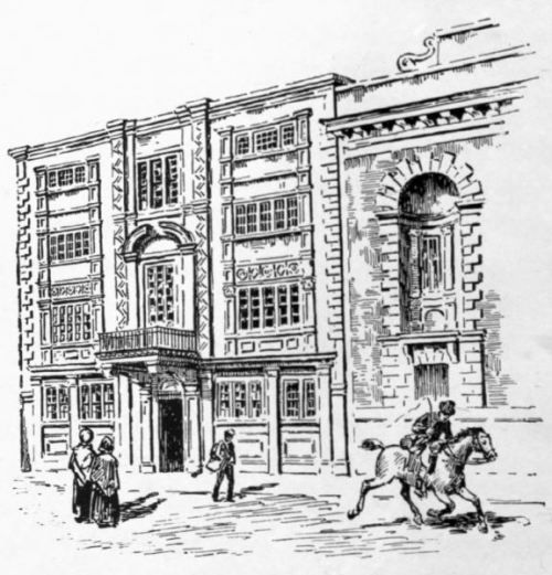 The Postal Service in 18th Century Britain: Letters and the Penny-Post (Image is of the General Post Office in Lombard Street, London.)
