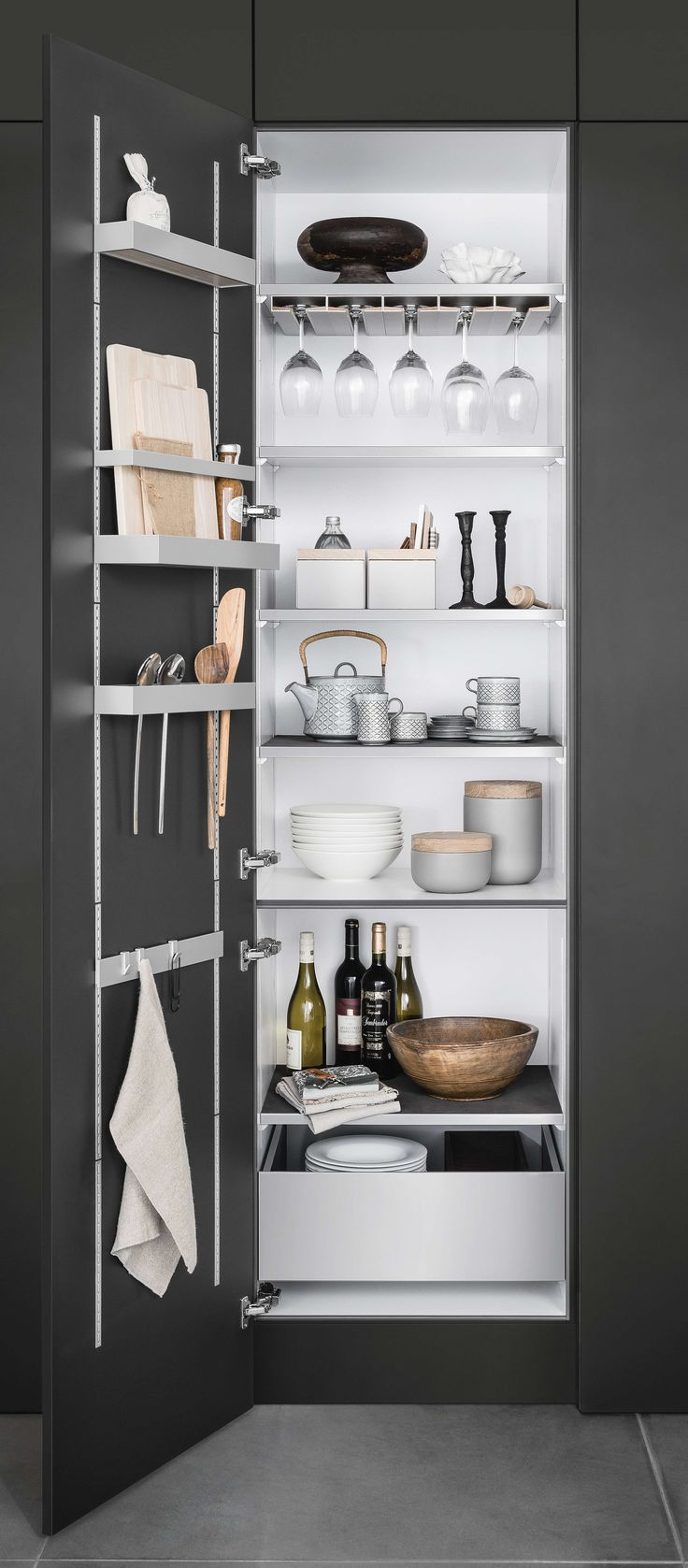 Single Tall Kitchen Cabinet 14 best siematic inside for tall, wall, and base cabinets images