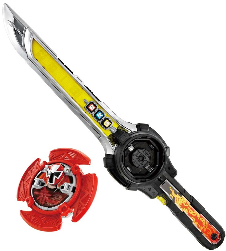 Power Rangers Ninja Steel Sword : Japan Sentai Ninninger Version - Henshin Shinobigatana Ninja Ichibanto