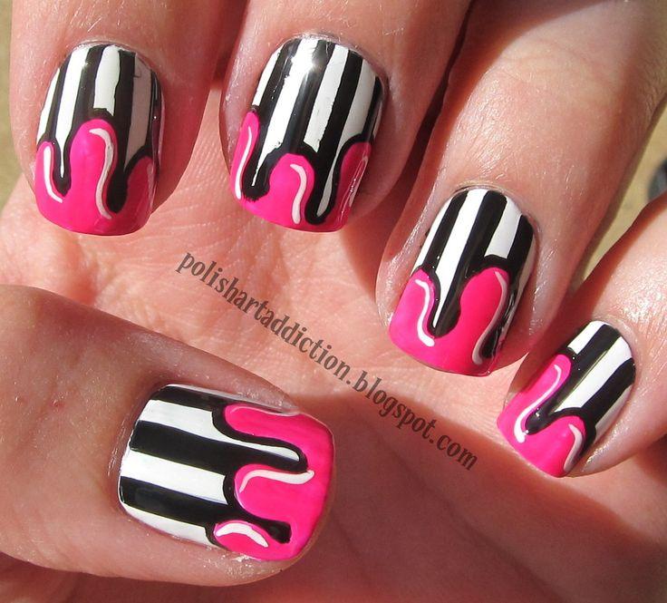 Nail designs paint dripping great photo blog about manicure 2017 nail designs paint dripping prinsesfo Choice Image