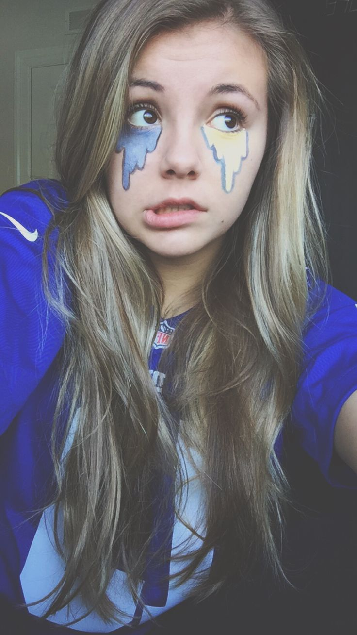 The gallery for school spirit day face paint ideas for 1 day paint