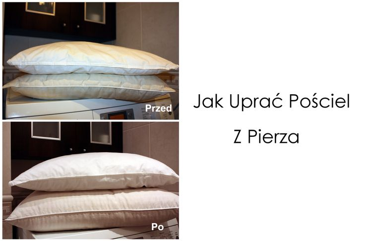 #Jak #uprać #pościel #z pierza #How #to #wash #pillow