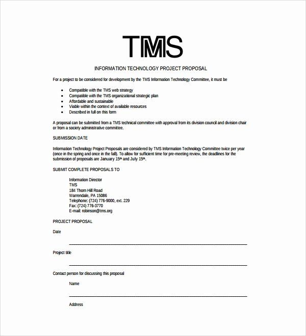 Information Technology Proposal Template Awesome 8 Technology Proposal Templates Proposal Templates Project Proposal Template Free Proposal Template
