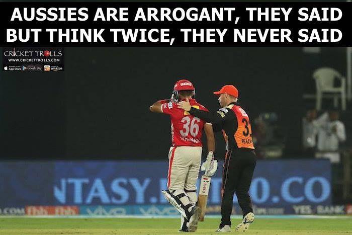 David Warner congratulating Manan Vohra after his fine knock #SRHvKXIP #IPL2017 For more cricket fun click: http://ift.tt/2gY9BIZ - http://ift.tt/1ZZ3e4d