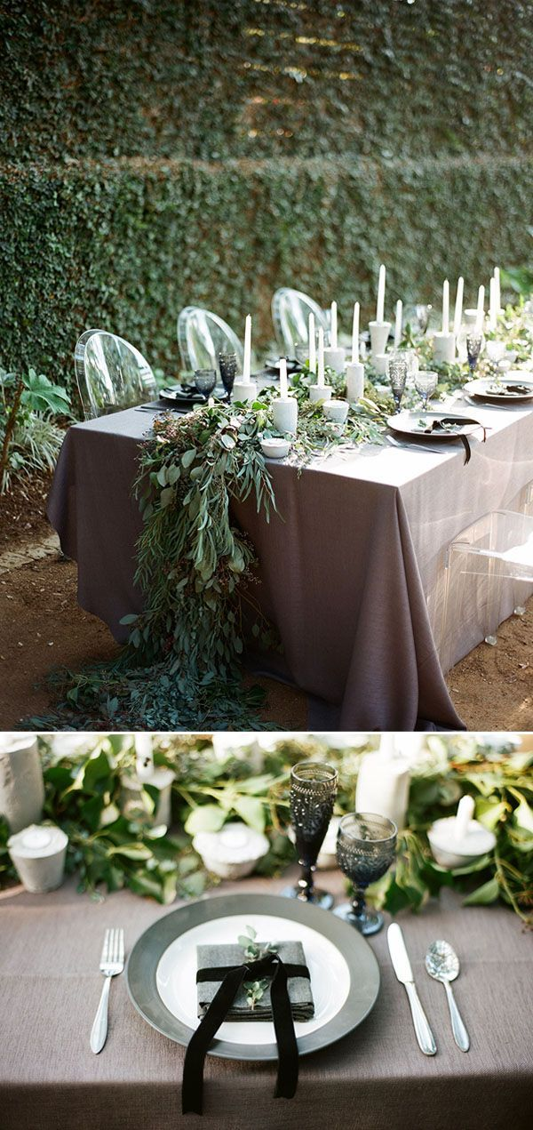 classic black and white wedding inspiration #flowers #decorations
