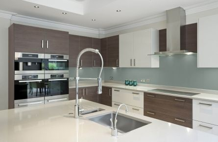 image of Ocean High Gloss Acrylic Kitchen Splashback