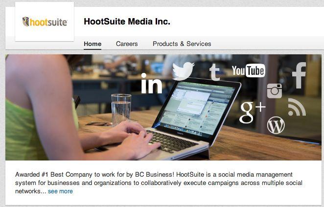 how to make posts buffer on linkedin company page