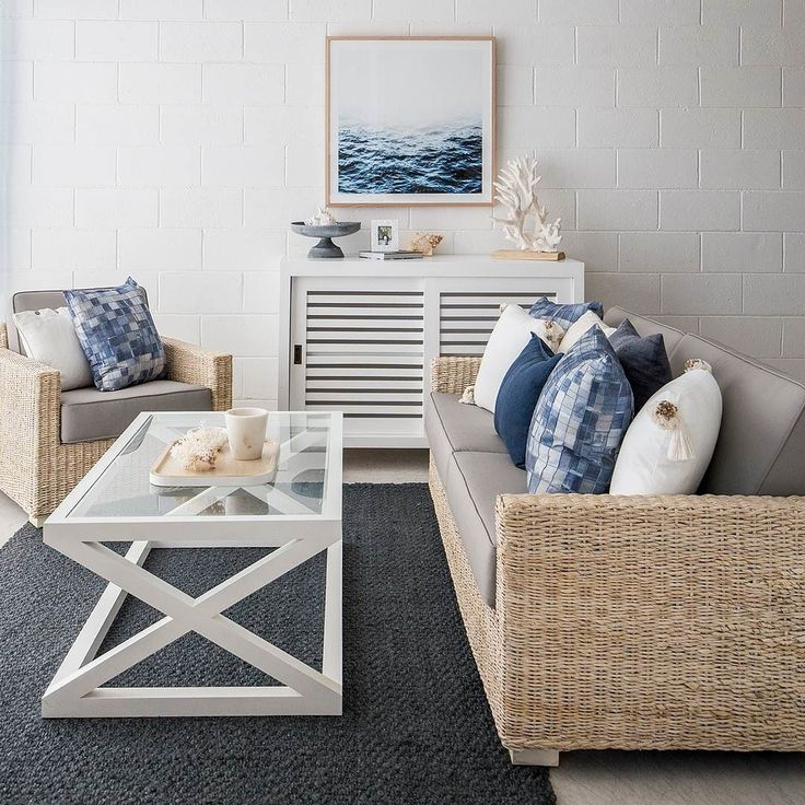 Casual living at its best our gorgeous new navy rug brings this beautiful space together effortlessly. Many casual conversations would be enjoyed here.