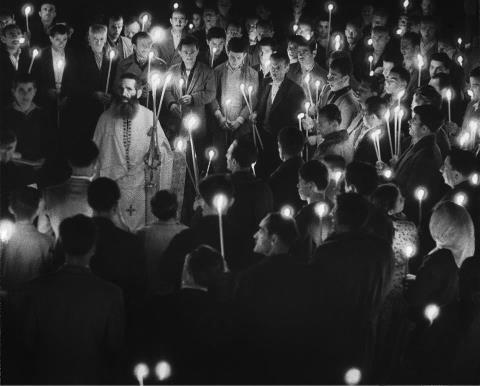 Ήπειρος, 1957. Φωτογραφία Κώστας Μπαλάφας. © Φωτογραφικά Αρχεία Μουσείου Μπενάκη.Το Πάσχα στην Ελλάδα.