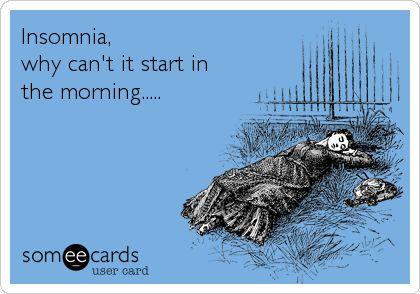 Pregnancy insomnia :/