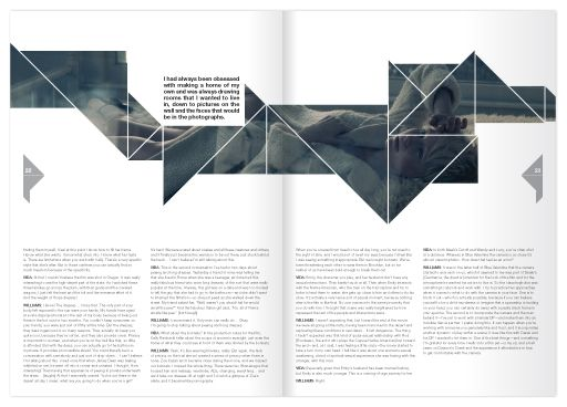 Branding and layout design for a arts and culture magazine. Description from beh…