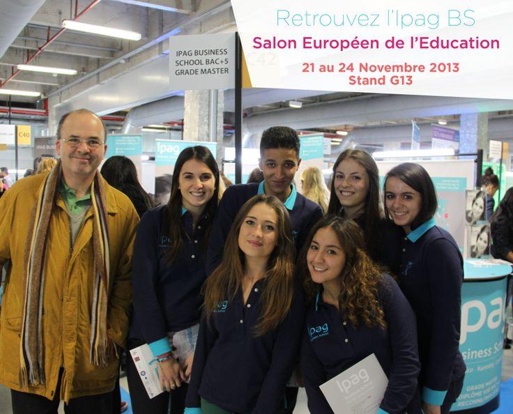 L'Ipag BS vous attend du 21 au 24 Novembre 2013 au Salon Européen de l'Education stand G13.  Faites comme nos visiteurs, venez prendre une photo avec l'Ipag Team et posez leur toutes vos questions !  Toutes les infos sur le salon : http://www.letudiant.fr/etudes/salons/salon-de-l-education.html cool site this is awesome