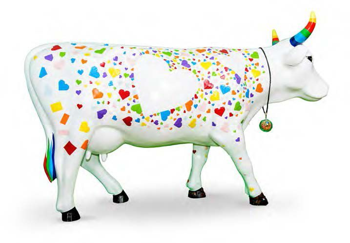 FLORENCE FAUCHOIX & JOSIANE CANITROT ORIGAMI COW LES ARTISTES Florence, originaire de l'Oise et Josiane du Limousin, vivent toutes deux dans l'Oise à Senlis. «QUATRE Mains, DEUX coeurs...nous sommes UNE»,… - Cornette de Saint Cyr - 31/10/2015 #Vache #Cow