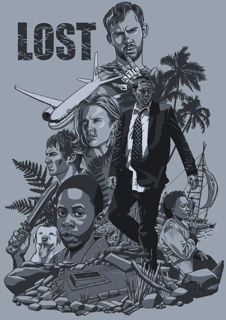 Lost Season 1 by ~xcub [dA]
