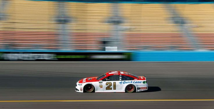 Fresh generation of drivers emerging on NASCAR circuit  -  March 19, 2017          Ryan Blaney drives through Turn 1 during practice for a NASCAR Cup Series auto race at Phoenix International Raceway, Saturday, March. 18, 2017, in Avondale, Ariz. Blaney will start in the second position for Sunday's Monster Energy NASCAR Cup Series race. (AP Photo/Ralph Freso)