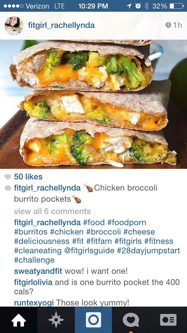 69 best fit girl recipes from instagram images on pinterest chicken broccoli burrito pockets 1 lb chicken breast garlic powder and sea salt 1 forumfinder Choice Image