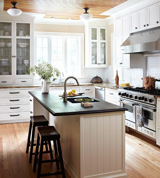 Kitchen Island Yes Or No: 17 Best Images About Kitchens On Pinterest