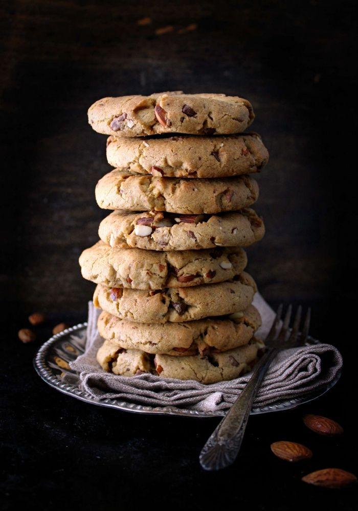 Mandel & sjokolade cookies på 30 minutter