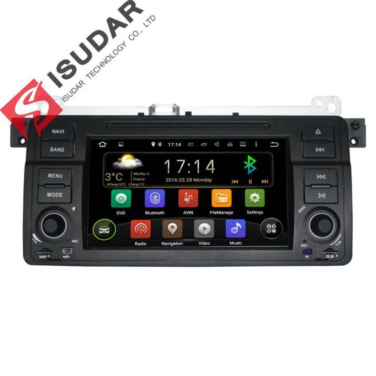 Android 5.1.1 7 Inch Mobil DVD Player Multimedia Untuk BMW E46/M3/MG/ZT/3 seri Rover 75 Canbus Wifi GPS Navigasi FM Radio Peta