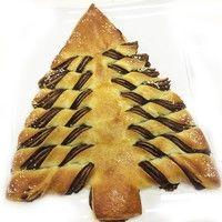 Receita de Natal! Aprenda a fazer uma Árvore de Creme de Avelã.