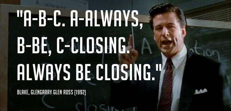 Glengarry Glen Ross Quotes. QuotesGram
