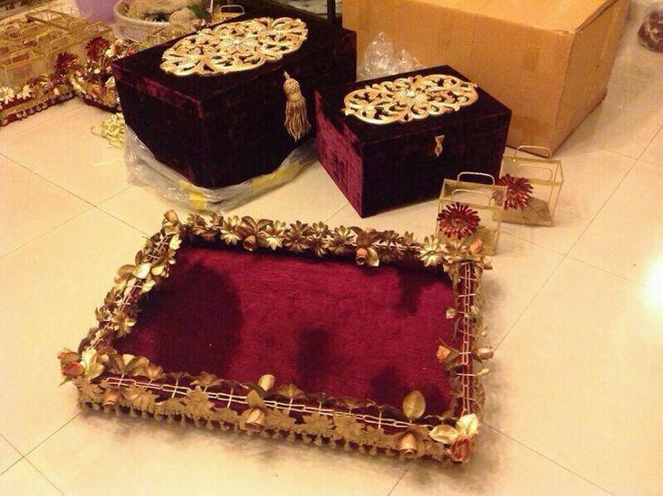 Wedding gift boxes...
