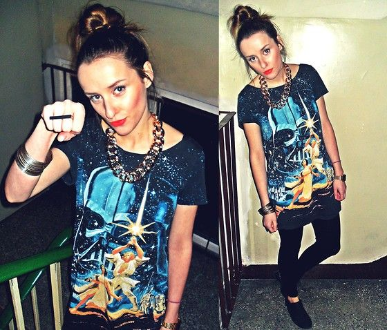 May the Force be with you (by Mia Tosia) http://lookbook.nu/look/4637333-May-the-Force-be-with-you