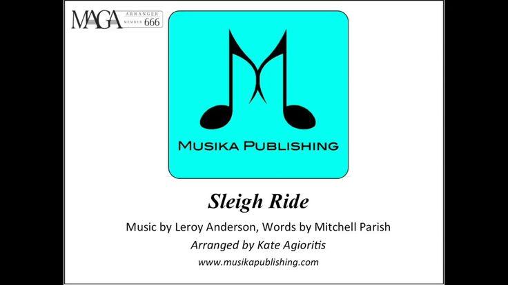 Sleigh Ride - Saxophone Quartet