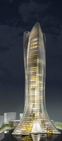 Dubai, United Arab Emerates: Michael Schumacher World Champion Tower by Laboratory for Visionary Architecture (LAVA)