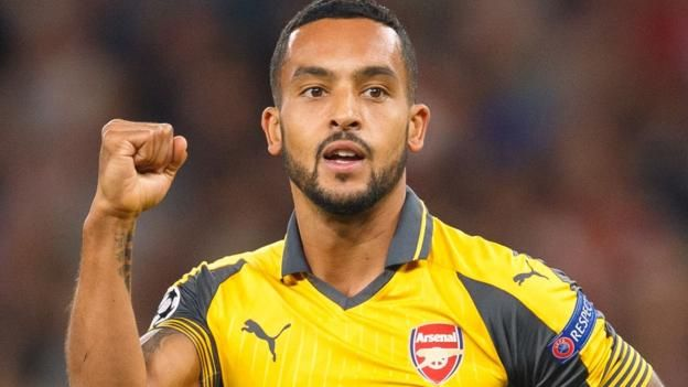 Arsenal 2 FC Basel 0: Theo Walcott scores twice as Arsenal put in a dominant home display against Basel in the Champions League.