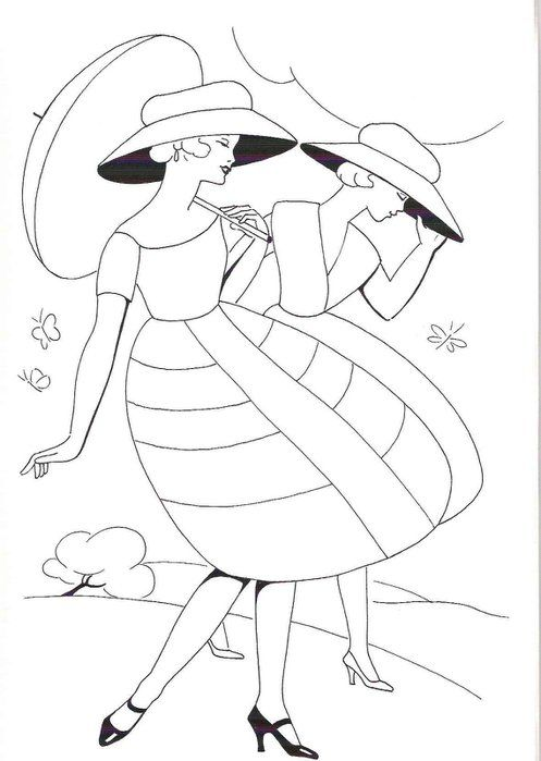 Line Art Embroidery : Best images about diseños mujeres on pinterest