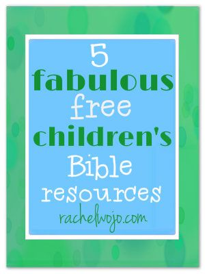 Excellent family resources for morning quiet time with God. FREE Bible Resources for Children!