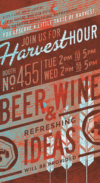 // Harvest Creative | Harvest Hour card (front) | Flickr - Photo Sharing!