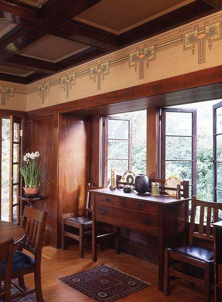 stencil dining room