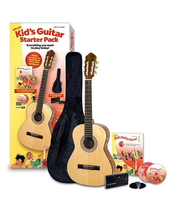 Look at this Alfred's Kids' Guitar Course Starter Pack on #zulily today!