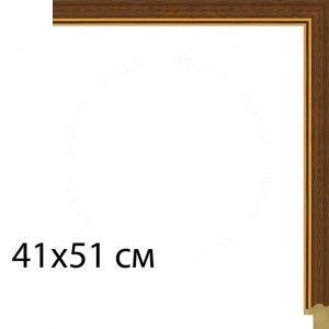 Вишня мореная с полоской Рамка для картины на картоне N109